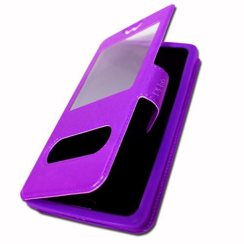 Echo max 5 5 etui housse coque folio violet pour by ph26 for Housse storio max 5