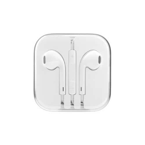 ecouteurs kit main libre blanc pour apple iphone 6 pas cher. Black Bedroom Furniture Sets. Home Design Ideas