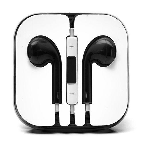 ecouteur earpods kit main libre noir pour apple iphone 6. Black Bedroom Furniture Sets. Home Design Ideas