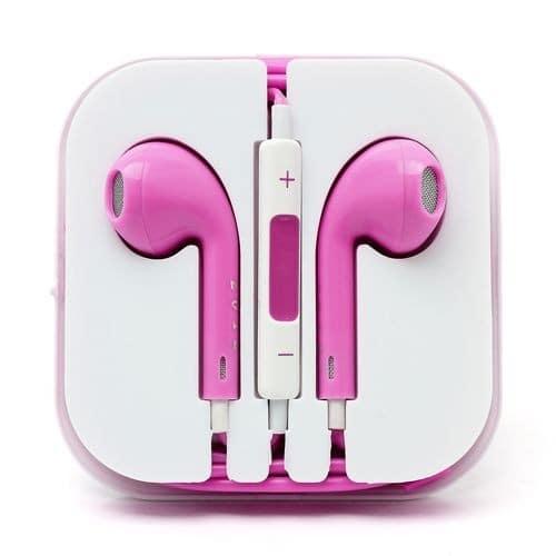 ecouteur kit main libre rose pour apple iphone 6s pas cher. Black Bedroom Furniture Sets. Home Design Ideas