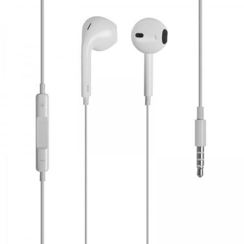 ecouteur kit main libre iphone 5 5c 5s apple blanc pour iphone ipad ipod. Black Bedroom Furniture Sets. Home Design Ideas