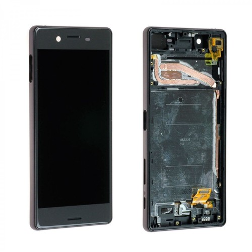 Ecran complet lcd chassis pour sony xperia x f5121 noir for Ecran photo sony