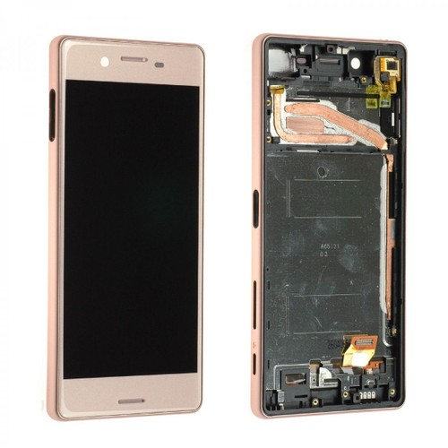 Ecran complet lcd chassis pour sony xperia x f5121 rose gold for Ecran photo sony