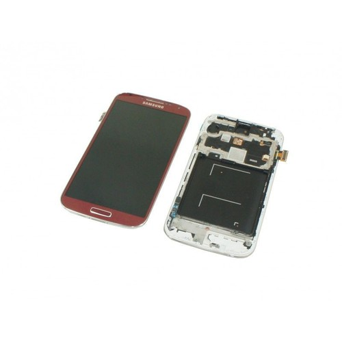 ecran complet lcd tactile pour samsung i9505 galaxy s4 rouge outils neuf. Black Bedroom Furniture Sets. Home Design Ideas