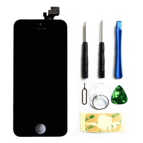 ecran complet pour iphone 5c noir vitre tactile cran. Black Bedroom Furniture Sets. Home Design Ideas