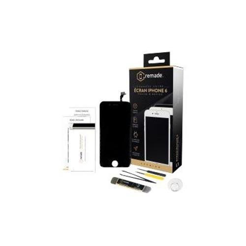 remade kit reparation ecran cran lcd noir pour apple iphone 6. Black Bedroom Furniture Sets. Home Design Ideas
