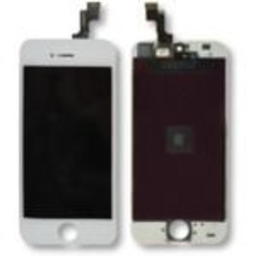 ecran lcd et vitre tactile assembl s de rechange pour iphone 5s blanc. Black Bedroom Furniture Sets. Home Design Ideas