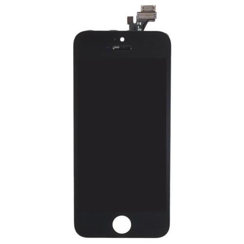 cran lcd et vitre tactile pour iphone 5s noir pas cher rakuten. Black Bedroom Furniture Sets. Home Design Ideas
