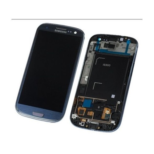 Ecran lcd tactile complet samsung galaxy s3 i9300 bleu for Photo ecran tablette samsung