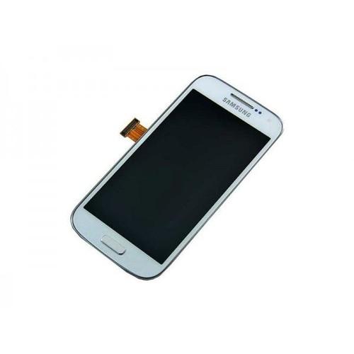 Ecran lcd tactile complet samsung galaxy s4 mini i9195 blanc for Samsung photo ecran