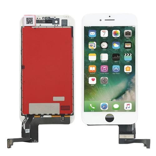 ecran lcd vitre tactile avec ch ssis pour iphone 7 blanc pas cher. Black Bedroom Furniture Sets. Home Design Ideas