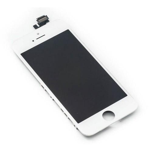 ecran lcd vitre tactile d 39 origine pour iphone 5 blanc. Black Bedroom Furniture Sets. Home Design Ideas