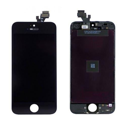 ecran lcd vitre tactile d 39 origine pour iphone 5 noir module complet r tina. Black Bedroom Furniture Sets. Home Design Ideas
