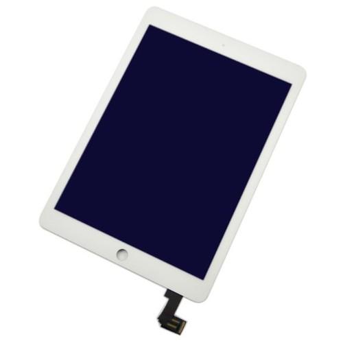 ecran lcd vitre tactile pour ipad air 2 for ipad 6 6th blanc. Black Bedroom Furniture Sets. Home Design Ideas