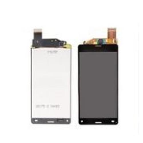 ecran lcd vitre tactile pour sony xperia z3 compact z3 mini noir. Black Bedroom Furniture Sets. Home Design Ideas