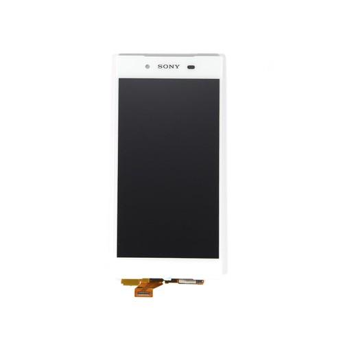 Cran lcd vitre tactile pour sony xperia z5 e6653 blanc for Ecran photo sony