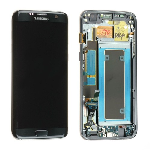 Ecran samsung galaxy s7 edge noir vitre tactile et lcd for Photo ecran galaxy s7