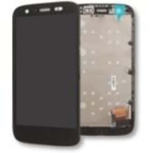Ecran tactile lcd noir avec ch ssis de remplacement pour for Photo ecran moto g