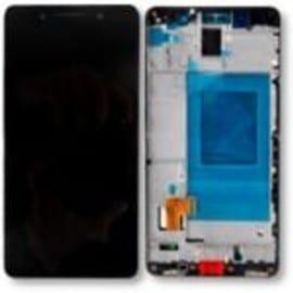 Ecran tactile lcd noir avec ch ssis de remplacement pour for Photo ecran honor 7