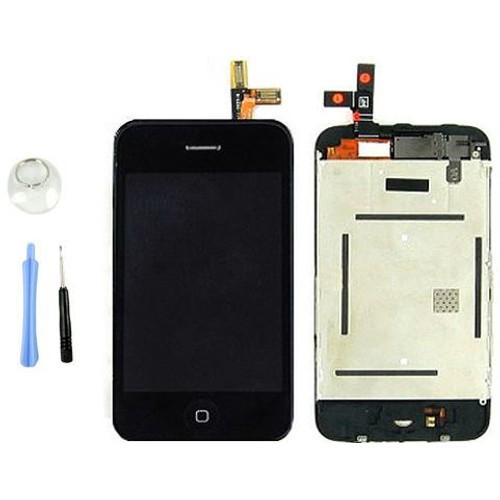 ecran vitre tactile chassis lcd assemble iphone 3gs. Black Bedroom Furniture Sets. Home Design Ideas