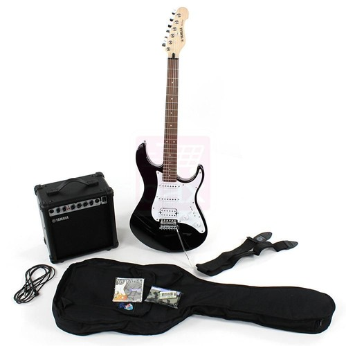 yamaha eg112gpii pack guitare lectrique noir achat et vente. Black Bedroom Furniture Sets. Home Design Ideas