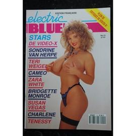 Electric Blue Fr N  Sondrine Van Herpe Teri Weigel Cameo Zara White Bridgette Monroe