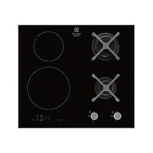 electrolux egd6576nok table de cuisson mixte induction et gaz. Black Bedroom Furniture Sets. Home Design Ideas