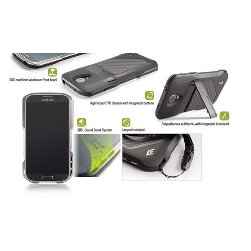 huge discount 01a37 9ad5c Element Case Eclipse Coque Samsung Galaxy S4 i9500, Couleur: Or
