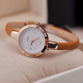 Eleyooner Montre Bracelet Femme Montre � Quartz Mince Montre Analogique El�gant Montre Avec Trotteuse Classique Watch D�contract� Durable Mode Collier