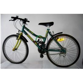 Elo Tout Terrain Vtt Team Number One Mixte Fille Garcon N� 1 Shimano 330 18 Vitesses Speeds Bicyclette 24