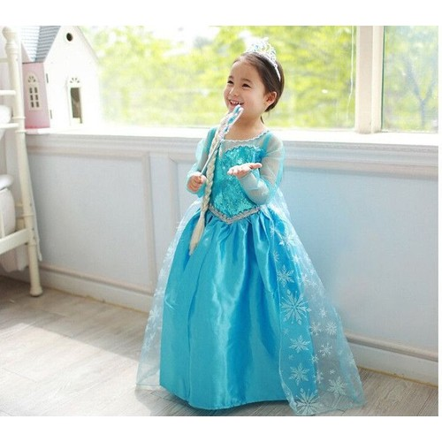 elsa la reine des neiges robe enfant achat et vente priceminister rakuten. Black Bedroom Furniture Sets. Home Design Ideas
