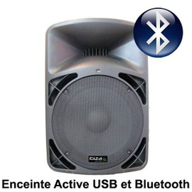 enceinte amplifi wireless bluetooth usb pro15a bt ibiza. Black Bedroom Furniture Sets. Home Design Ideas