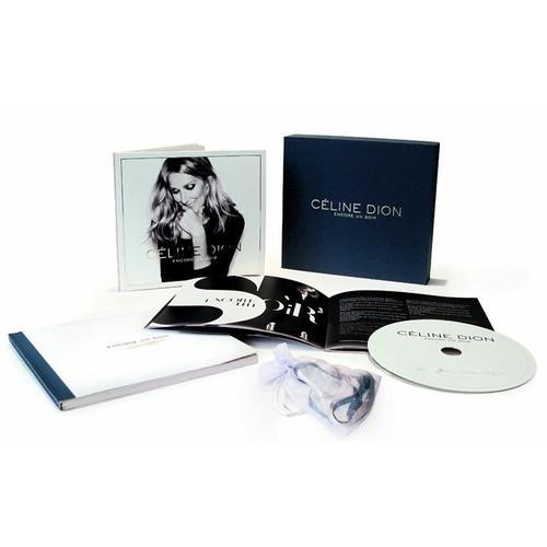 encore un soir coffret collector deluxe c line dion cd album. Black Bedroom Furniture Sets. Home Design Ideas