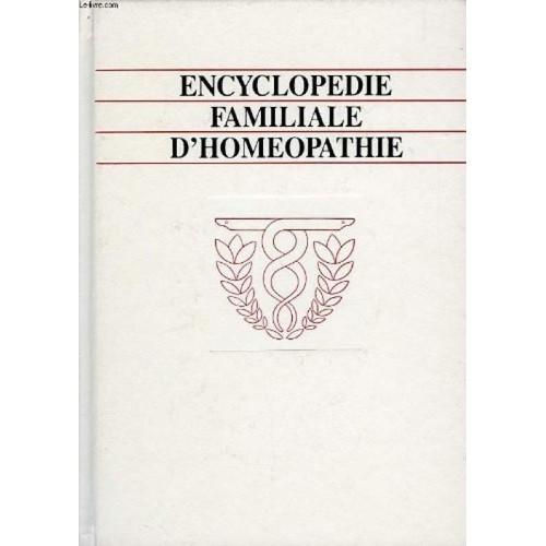 encyclopedie familiale d'homeopathie