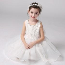 enfant b b fille robe princesse bouffante c r monie bapt me mariage. Black Bedroom Furniture Sets. Home Design Ideas