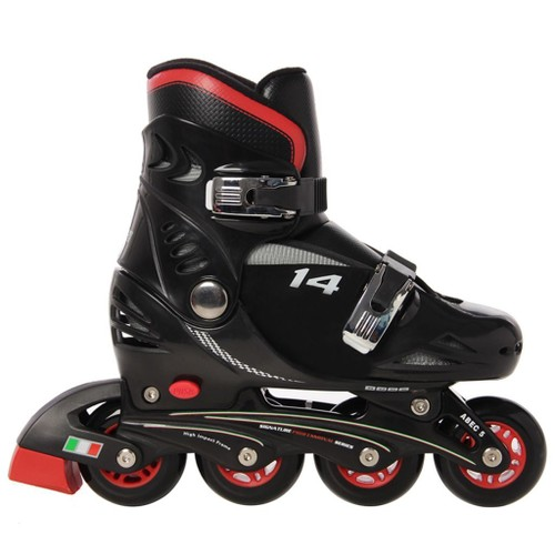 enfants chaussure pour skate roues pu rebond patins roller roues aligneshaute simili cuir velours rsistante aux