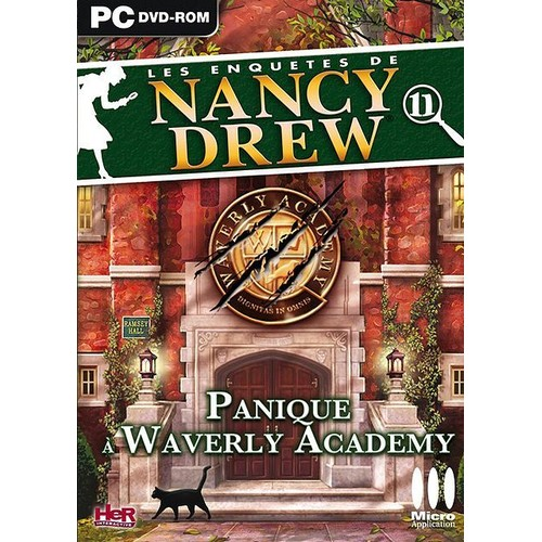 gratuitement nancy drew panique à waverly academy