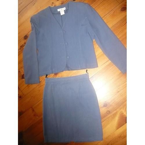cdf135f69ae4 ensemble-vetement-pourquoi-pas-jupe-veste-taille-38-bleu -pret-a-porter-849119878 L.jpg