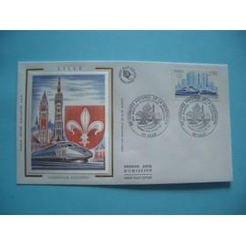 Enveloppe 1er Jour: Congr�s F�d�ration Philat�lique Le 29 Mai1993 � Lille