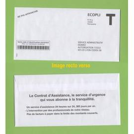 Enveloppe fen tre envelope ecopli t ne pas affranchir for Enveloppe a fenetre