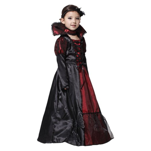 eozy d guisement vampire halloween enfant fille 10 12ans. Black Bedroom Furniture Sets. Home Design Ideas
