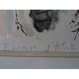 Epreuve D\'artiste Gabriel Dauchot (1927-2005) - Neuf et d\'occasion