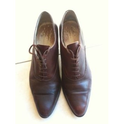 Chaussures à lacets BALLY cuir marron 40 TAeYVCMPq