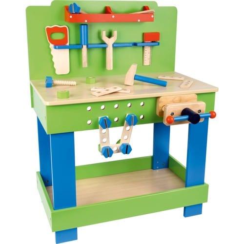 etabli en bois pour enfant avec outils 1579 achat et. Black Bedroom Furniture Sets. Home Design Ideas