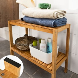 Awesome Etagere Salle De Bain Bambou Images - Design Trends 2017 ...
