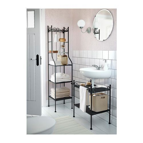 tag re sous lavabo ikea r nnsk r noir achat et vente rakuten. Black Bedroom Furniture Sets. Home Design Ideas
