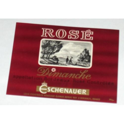 Etiquette ancienne bordeaux rose dimanche eschenauer tableau couple ombrelle objets a collectionner 873055517 l jpg
