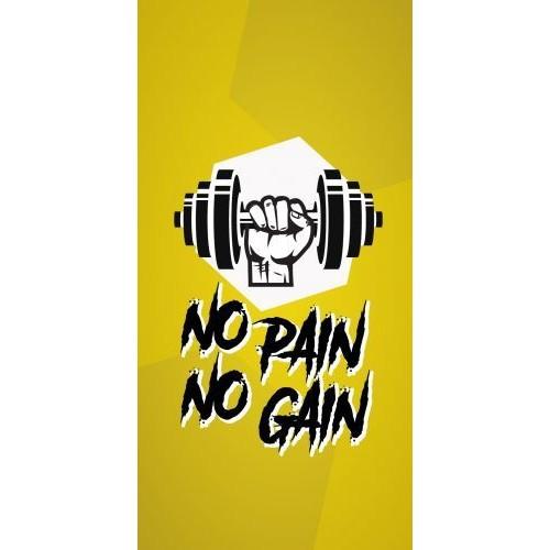 coque huawei p9 lite no pain no gain