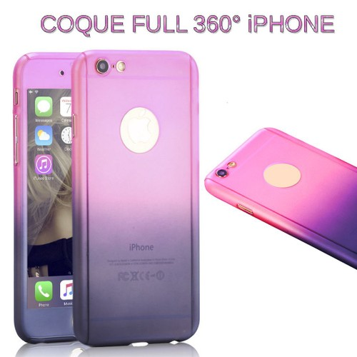 coque iphone 7 360 violet