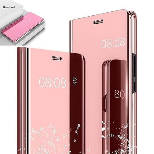 Etui Housse Apple Iphone 8 Plus Clear Miroir Transparent View